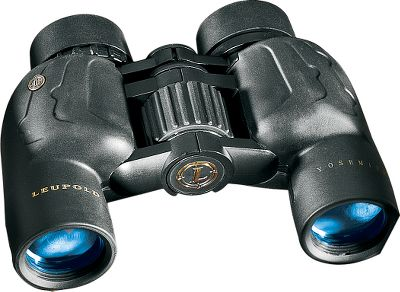 Hunting Experience vastly superior optical quality Leupold BX-1 Yosemite 8x30 Binoculars compact size fits perfectly in smaller hands, making them ideal for children or a smaller-stature person. Legendary fully multicoated optics ensure optimal brightness, resolution, contrast and color fidelity. The compact, porro-prism design is well-suited for low-light conditions. BaK-4 prisms produce crystal-clear imaging. Twist-up eyecups let you adjust the eye-relief distance and comfortably wear glasses while viewing. Filled with nitrogen to maintain its 100% waterproof integrity. Protective rubber-armor coating. Ergonomic, industrial design. Includes a case, neoprene neck strap, eyepiece covers and tethered objective lens covers. Covered by manufacturers limited-lifetime warranty. Type: Full-Size. - $129.99