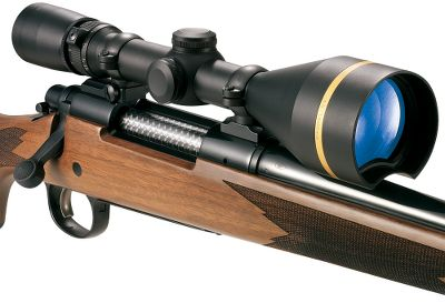 Hunting Experience vastly superior optical quality The next-generation VX-L series features an innovative contoured bell with exclusive Light Optimization Profile technology to give you the light-enhancing performance of a large objective lens. Enables you to mount the scope low to the bore like a traditional 36mm scope. Its high-tech crescent design delivers 48.6% more Total Light Throughput than a 36mm scope with an uninterrupted, circular field of view and sharp edge-to-edge clarity. The Index Matched Lens System coats each lens surface to eliminate reflection and further improve light transmission. More usable light reaches your eyes due to edge-blackened lens. DiamondCoat 2 lens protection provides a scratch- and abrasion-resistant finish for a lifetime of rugged use. Second-generation argon/kryton waterproofing makes this scope impervious to fogging, heat and rain. All models feature a lockable, fast-focusing eyepiece; dual-spring; titanium nitride/stainless steel adjustments; and finger-adjustable and 1/4-MOA click adjustments with resettable pointer dials for unmatched aiming precision. The range-estimating tactile power indicator provides infinitely adjustable magnification. Custom Dial System (CDS) models offer competition-level bullet-drop compensation, yet are compact and easy to operate in hunting situations. Simply adjust the turrets for a known range and squeeze the trigger (all-purpose turret included; additional caliber-specific turrets available from Leupold). All models include a custom-fitted scope cover. 1 tube unless otherwise noted. Matte-black finish. Color: Stainless Steel. Type: Riflescopes. - $647.88