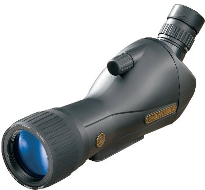 Hunting Experience vastly superior optical quality Available with a straight or angled eyepiece and in 15-45x60 and 20-60x80 models, there is a Ventana to meet your viewing needs. Multicoated optics and DiamondCoat lenses ensure superior light retention and clarity. Rugged waterproof, nitrogen-filled, polycarbonate bodies will stand up to years of use in any conditions. Focus dial is conveniently located on the eyepiece. Twist-up eyepiece adjustment. Kit includes your choice of Ventana spotting scopes; a sturdy compact tripod; and a tough, black polymer, diamond-plate case. Color: Black. - $149.99