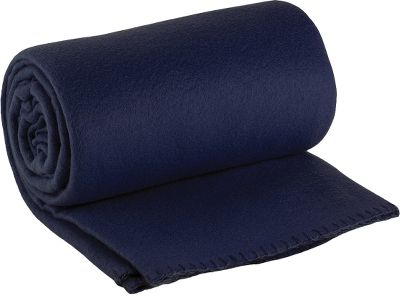 "Camp and Hike Generously sized 50"" x 60"" blanket offers warm, cozy coverage with its plush material. Soft, lightweight fleece. Machine washable. Imported. - $7.88"