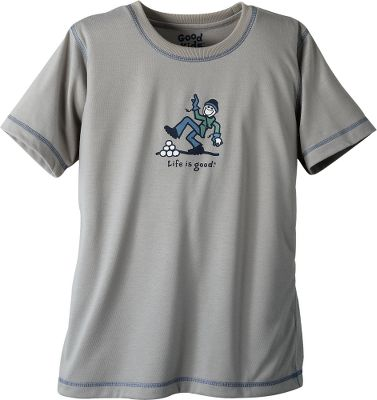Sleep will come easy when you snuggle into this comfy tee. Flame-resistant 100% cotton knit fabric with a no-feel stock car applique. Imported. Sizes: S-XL. Design/color: Snowball/Silver. Type: Short-Sleeve Tee Shirts. Size: Small. Size Small. Color Snowball/Silver. - $14.88