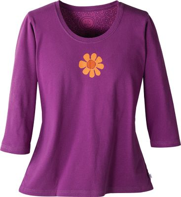 Sueded cotton makes this scoop-neck tee petal soft. Triple-needle stitched for quality. Semifitted. Imported.Sizes: S-2XL.Colors: Deep Magenta, Juicy Orange. - $29.88