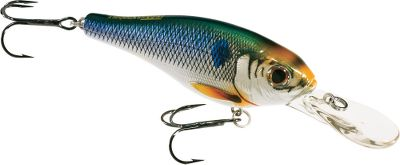 Fishing When walleye are bait-finicky, make this spot-on shad imitator your go-to lure. Its tight wobble, intricate head detail and slender profile trigger massive strikes. Per each. Sizes: 2-1/2, 5/16 oz. 3, 1/2 oz. Colors: (201)Silver/Blue, (205)Silver/Bronze. Color: Silver. Type: Crankbaits. - $11.19