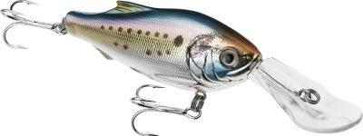 Fishing This deep-diving crankbait is the ideal trolling lure for groupers, striped bass, bluefish, king mackerels and other offshore game fish. Equipped with frenzy-inducing action and a stunningly realistic finish, the Menhaden is must-have equipment for any saltwater angler. Sizes: 4-1/2, 5-1/4. Color: (902)Natural/Metallic. Color: (902)Natural/Metallic. Gender: Male. Age Group: Adult. Type: Saltwater Crankbaits. - $17.59