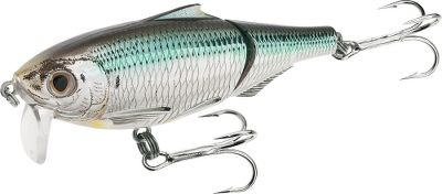 Fishing Snook, grouper, tarpon, kingfish and blackfin tuna cant resist the temptation of the Scaled Sardine. Intense detail is crafted into this lure with state-of-the-art precision tooling. Wakebait-style lure creates a realistic and rhythmic surface dance. Per each. Size: 3-1/2. Color: (902)Natural/Metallic. Color: (902)Natural/Metallic. - $10.88