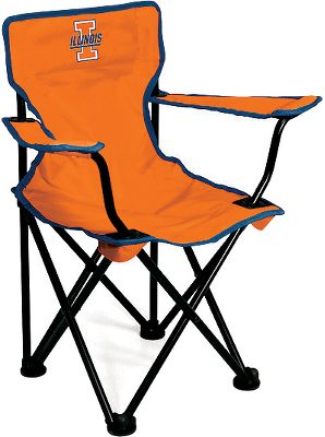 Sports Pump up the game-day comfort of the toddler-sized sports fan in your family. Decked out in team colors, the Collegiate Toddlers' Chair boasts team-matching logos on the front and back and on its handy storage bag. Sturdy black frame. Made of durable 600-denier polyester. Imported. Dimensions: 21H x 13W x 12D. Weight capacity: 50 lbs. Available: Arizona, Illinois, Kansas, Notre Dame, USC, Wake Forest, Miami, Virginia Tech. - $19.99