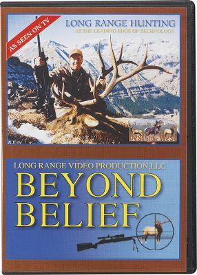 Hunting Beyond Belief is a collection of 33 kill shots, including some of the finest long-range shots ever captured on video. It includes hunts for coyotes, antelope, elk and deer and is considered one of the best long-range hunting videos ever produced. See what's possible with practice. Approximately 80 minutes. DVD. Available: Volume I, Volume II. - $8.88