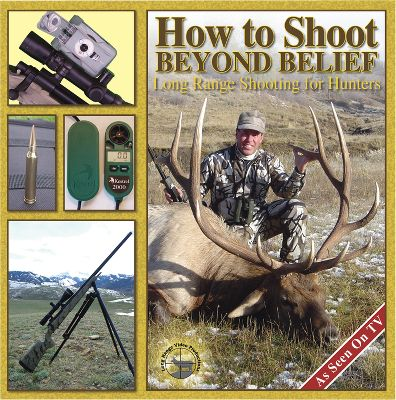 "Hunting How to Shoot Beyond Belief is the ""nuts and bolts"" companion to the Beyond Belief video. It's a three-DVD set with more than 10 hours of instruction on long-range hunting covering everything from guns to gear to ballistics and wind drift. Hosted by John Burns of the TV show ""Best of the West."" Subject: Shooting & Reloading. Type: DVDs. Type: DVD. - $59.99"