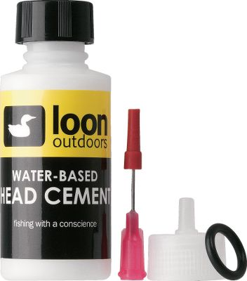 Flyfishing The Loon Head Cement System comes with applicator cap and needle. Water-based, contains no toluene, and is perfect when tying with synthetics. 1-oz. bottle. Gender: Male. Age Group: Adult. - $7.99