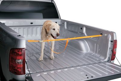 Motorsports Secure your load quickly and easily using the existing holes in your truck bed. To install the pet-securing system, simply insert the anchor into the desired hole and turn the eyebolt. The flair plug expands, securing the anchor. Then attach the included pet-securing webbing. Available: Ford, GM/Dodge. - $4.88