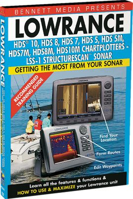 Fishing These are the most comprehensive training DVDs for your Lowrance marine electronics. The detailed step-by-step instruction takes you through all the key features. Available: LMS Series (520C, 522C iGPS, 525C, 527C iGPS), LCX Series (LCX-27C, 28C HD, 37C, 38C HD, 112C, 113C HD). Type: Product Instruction - DVD. - $6.88