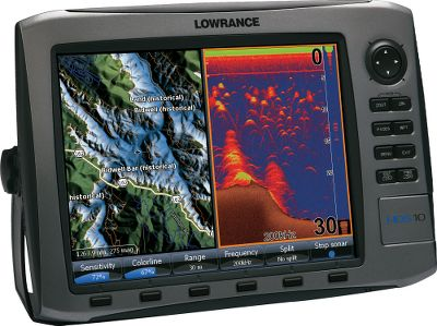 "Fishing With Lowrance's-exclusive Broadband Sounder you will see fish you couldn't see before. This award-winning fish-finding technology displays more targets with greater sensitivity and higher definition. You get superior target marking in all conditions so you can find more fish hiding in any cover. Bottom contours will show up better than ever. The advantages don't stop there. You'll always know where you are on the water thanks to the super-sensitive internal GPS antenna. It's also fully compatible with Sirius real-time weather and radio services available through affordable inland and offshore packages. Use the built-in Ethernet connection to share high-speed, high-bandwidth data with all HDS displays on your boat, including sonar graphs, navigation and Sirius weather/radio and radar. The HDS-10 features a widescreen 10.4"" SVGA display with crystal-clear 600x800-pixel resolution and an easy-to-operate soft-touch keypad.Choose exclusive Lowrance mapping plus Insight high-definition charts or the enhanced U.S. basemap:All HDS chart-plotter models with the enhanced U.S. basemap feature complete U.S. geographical coverage for more than 100,000 bodies of water and nearly 5,000 enhanced U.S. lakes with highly detailed shorelines and depth contoursInsight high-definition mapping delivers unprecedented detail with lightning-fastmap-screen updatesInsight USA combines inland and coastal coverage of Lake Insight , including more than 60,000 marked Fishing Hot Spots Compatible with complete range of Navionics mapping cartridges, including Platinum and Platinum PlusAll HDS units feature Turboview for enhanced viewing with top-of-the-line Navionics Platinum 3-D charts HDS chart-plotters are fully compatible with all Lowrance plug-and-play choices, including Lake Master Pro Maps, Fishing Hot Spots Pro, NauticPath and FreedomMaps Lowrance HDS-10 includes:Vastly improved angler control, with unique FlyWheel scroll dial, plus soft command keys, for faster and simpler fis... - $1,799.88"