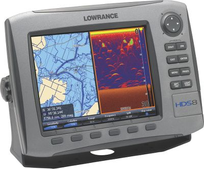 "Fishing With Lowrance-exclusive Broadband Sounder you will see fish you could never see before. This award-winning fish-finding technology displays more targets with greater sensitivity and higher definition. You get superior target marking in all conditions, so you can find more fish hiding in any cover. Bottom contours will show up better than ever. The advantages don t stop there. You ll always know where you are on the water, thanks to the super-sensitive internal GPS antenna. All HDS models are also fully compatible with Sirius real-time weather and radio services available through affordable inland and offshore packages. Use the built-in Ethernet connection to share high-speed, high-bandwidth data with all HDS displays on your boat, including sonar graphs, navigation, Sirius weather/radio and radar. The 5"" high-performance display delivers 480x480-pixel resolution and is easier to use with brilliant displays, menus and keypads. Additional features include a built-in broadband high-definition sounder, a super-sensitive GPS antenna and Sirius satellite weather and radio package options. A SD card slot lets you expand memory for optional detail mapping display and sonar/GPS data recording. Available with built-in, exclusive Insight high-definition mapping with amazing contour shading. Most mapping options include Platinum series with Turbo View feature. Expandable and ready-to-network on NMEA 2000 and Ethernetworks. Six-month warranty. - $349.00"