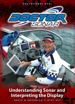 Fishing Learn sonar basics and how to interpret the display. This DVD will teach you how to read sonar returns and identify fish, baitfish and structure, and how to tell the difference between hard- and soft-bottom environments. 110 minutes. - $20.88