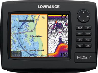 Fishing Enter the new era of fish finding with the HDS series by Lowrance. With Lowrance-exclusive broadband sonar, you will see fish you could never see before. This award-winning fish-finding technology displays more targets with greater sensitivity and higher definition. You get superior target marking in all conditions, so you can find more fish hiding in any cover. Bottom contours will show up better than ever. The advantages dont stop there. Youll always know where you are on the water thanks to the super-sensitive internal GPS antenna. All HDS Gen2 models are also fully compatible with Sirius real-time weather and radio services available through affordable inland and offshore packages. Use the built-in Ethernet connection to share high-speed, high-bandwidth data with all HDS displays on your boat, including sonar graphs, navigation, Sirius weather/radio and radar. Fish have nowhere left to hide. Get true 180, panoramic sonar imaging with the most advanced imaging system on the market. The split-screen format lets you compare and contrast returns from each system for verifiable accuracy. This sleek, simple-to-install system includes a low-profile transducer and the LSS-2 black box waterproof module that connects easily to your new or existing HDS unit with the included 15-ft. Ethernet cable. The plug-and-play LSS-2 module also lets you network up to three HDS units; its also adaptable for other upgrades like the LWX-1 satellite receiver. The low-drag imaging transducer mounts on transoms and transom steps, jack plates and trolling motors (trolling motor adapter not included), and features a built-in water temperature sensor. StructureScan is also retro-adaptable for fisherman who want to upgrade their current HDS system. Fastest HDS ever delivers lightning-fast chart updates Award-winning Broadband Sounder allows you to mark and display everything underwater at higher speeds and Color: Insght 83/200 LSS2. Type: Sonar/GPS Combos. - $799.88