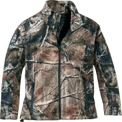 Hunting Built to handle the everyday wear and tear kids are known for, this jacket will keep them warm and dry on cool, damp days. The midweight jacket is crafted of moisture-wicking and windproof, two-way-stretch polyester. Zippered front and hand pockets. Hem cinch cord. The low-nap fleece lining has a waterproof membrane. Machine washable. Imported.Sizes: XS-XL.Camo pattern: Realtree AP. - $52.88
