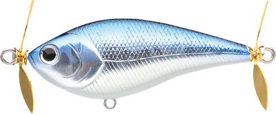 Fishing A deep profile and two water-churning props (one fore and one aft) give this attention-grabbing topwater lure the look and sound of an aggravated baitfish. Floats with its head angled slightly above the waterline for plenty of splash on fast retrieves. Designed with input from fishing pro Kelly Jordon. Per each. Size: 2-3/4 , 3/8 oz. Colors: (052)Aurora Black, (220)Impact Yellow, (238)Ghost Minnow, (247)MS Black, (250)Chartreuse Shad, (270)MS American Shad. Color: Chartreuse. - $10.88