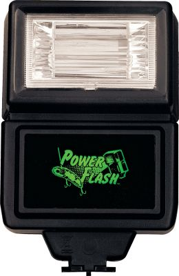 Fishing Charge your glow-in-the-dark-lures on the go with this compact flash that easily fits in a tackle box. It gets your lures ready in a flash and quickly recharges for the next lure. Operates on two AA batteries (not included). - $19.99