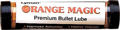 The Lyman Orange Magic Premium Bullet Lube is a high-performance lubricant that starts where other high-temperature lubes stop. Guaranteed to allow use of cast bullets at high velocities without leading. Won't melt out of loaded ammo. This lube is not recommended for black powder applications. It is intended for cast bullets loaded in ammunition with modern powders. Color: Orange. Gender: Male. Age Group: Kids. - $5.99