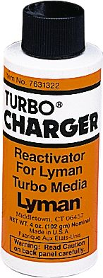 Turbo Charger Media Reactivator will restore previously used corn-cob media. Simply add as instructed directly to media.Size: 4 oz. bottle. - $5.88