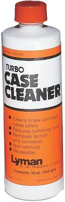 Youll want this solution to pre-clean cases that have a lot of fouling. Use it as a wet polishing media manually or with a tumbler. Size: 16-oz. bottle. Color: Turbo Case Cleaner. - $9.99