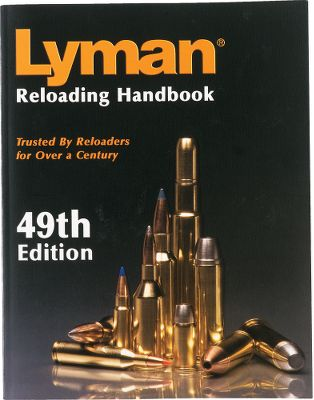 Lyman's 49th Edition Reloading Handbook is the latest version of its extremely popular rifle and pistol manual. The 49th Edition covers all popular new rifle calibers such as the .204 Ruger, 6.8 Rem SPC, .325 WSM, .338 Federal, .375 Ruger, .405 Winchester and the WSSM series. In addition, new pistol calibers such as the 5.7x28mm and .460 Sare also included. A wide selection of powders are included covering Alliant, Accurate, Hodgdon, Ramshot, VihtaVuori and Winchester. Additionally, most popular bullet brands are also covered including Barnes, Hornady, Nosler, Sierra, Speer and Swift. As always, full coverage is also given to Lyman cast bullets throughout the handbook. This is the one handbook that should find a home on all reloading benches. 464 pages. Softcover. - $14.99