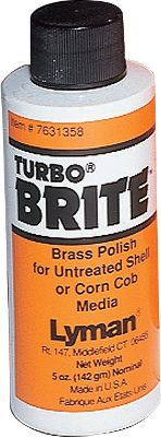 Highly effective brass polish designed for use with untreated corncob or Tufnut media. Just a few caps added to media quickly brings a high luster to brass. Also works with treated media to bring brass to a high luster shine.Size: 5 oz. - $7.88