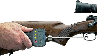 Determine the exact weight of your trigger pull for fine-tuning your rifle quickly and easily. A clean, crisp pull increases precision and overall performance. Digital scale reads from 0 to 12 lbs. in .10-oz. increments. Type: Tools. - $69.99