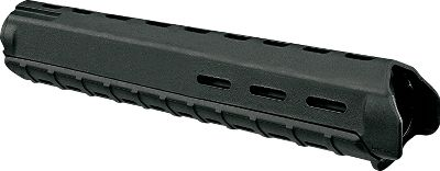 Magpul MOE Handguards are excellent drop-in replacements for standard plastic AR-15 handguards. Slots at 6, 10 and 2 oclock positions for mounting rail sections and accessories. Rugged reinforced polymer construction offers operational durability without the weight and cost of aluminum. Made in USA. Color: Black. Type: AR-15 Handguards. - $34.99