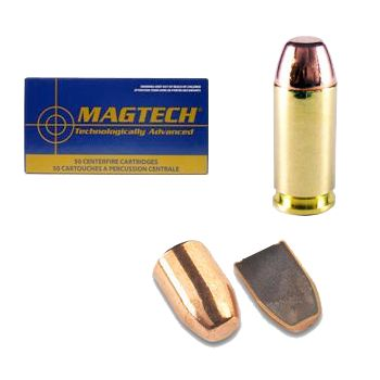 MagTech's Mega Pack matches affordable pricing with premium performance. All MagTech's components are manufactured in-house. This reduces cost and lets the company exercise strict quality control in every stage of production. Per 250. Available: 9MM 115GR, .40S180GR, .45ACP 230GR. - $94.99