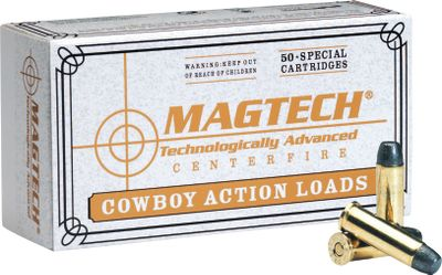 Heres a deal that takes a big bite out of the cost of cowboy-action shooting. This new-manufactured ammunition is loaded with 250-grain lead flat-nose bullets. - $179.99