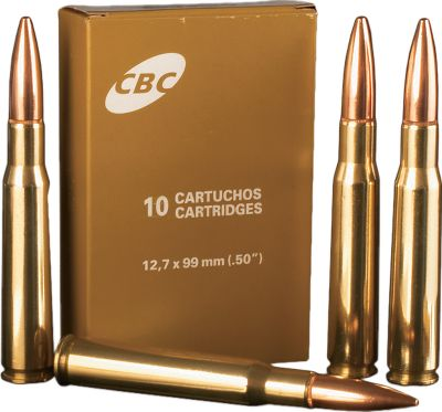 Hunting Made to the strictest tolerances using premium components, this .50 BMG ammunition doesn't go into the box until it passes Magtech's quality-control standards. Each round is loaded with quality powder and a 656-gr. steel-core FMJ bullet. The bullet specifications include a sectional density of .342 and a ballistic coefficient of .715 making these rounds ideal for long-range shooting. All cartridges are manufactured to SAAMI and CIP specifications. Boxer-primed. Per 80. - $419.99
