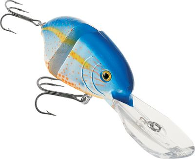 Fishing Reaching depths over 20 feet, this is Manns deepest-running jointed crankbait. With a swimming motion rivaling most soft-plastic swimbaits and a unique sound and vibration thats emitted during retrieval, fish feeling safe in deeper water wont have a chance. Per each.Size: 3-3/8, 3/4 oz.Colors: (011)Pumpkinseed Bream, (012)Copper Shad, (013)Chartreuse Craw, (014)Missouri Craw, (015)Crystal Threadfin, (016)Bull Bream. - $5.88