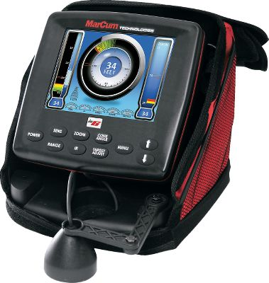 Fishing A powerful sonar system with 4,800 watts of peak-to-peak power and a 6 color screen. Precise 3/4 target separation for maximum clarity. 12-volt battery and charger included. User-defined on-screen Dashboard displays digital depth, battery voltage, range, sensitivity, interference rejection and target adjust. Made in USA. Type: Ice Fishing. Lx-6. - $599.99