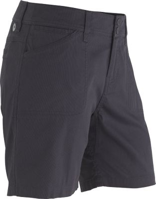 Explore the great outdoors in stylish comfort. Lightweight, regular-fitting shorts are a 98/2 cotton/elastane weave. Fabric provides stretch for increased mobility and a UPF rating of 30. Garment-washed for extra softness. Imported. Inseam: 7. Even sizes: 4-14.Colors: Dark Coffee, Dark Khaki, Dark Steel. - $19.88