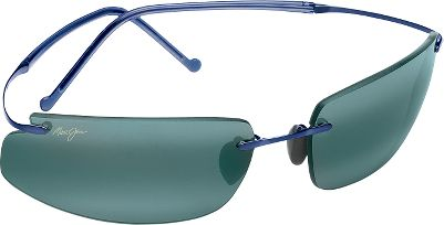 Entertainment Open your eyes to a whole new world of color and clarity. Maui Jim's patented multilayered lenses transmit vibrant color and crystal-clear contrast. They feature PolarizedPlus 2 lens technology to wipe out glare. Neutral Grey lenses are ideal for offshore fishing/extreme glare. Imported.Lens material: Maui Evolution.Size: L.Available: Blue frame/Neutral Grey lenses. - $309.00