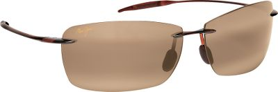 Hunting Sporty, sleek, and ultralight, Maui Jims Lighthouse Polarized Sunglasses feature PolarizePlus 2 technology that eliminates glare, blocks 100% of ultraviolet rays and maximizes colors with a patented multilayer design. Light polycarbonate lenses deliver exceptional optics, scratch resistance and impact resistance in a super-light package. Lenses boast a hydrophobic, oleophobic coating that repels water, oil and fingerprints. High-grade nylon frames are light and durable. Pin hinges, rubber nose pads and rubberon temple inserts provide a secure, nonslip grip. Available in Neutral Gray for optimal glare reduction in bright sunlight, High-Contrast Lens (HCL) Bronze for added glare protection and contrast on hazy, overcast days or Maui HT, which offers the greatest contrast when you want a brighter vew. Case and cleaning cloth included.The Skin Cancer Foundation recommends this product as an effective UV filter for the eyes and surrounding skin. Color: Bronze. Gender: Male. Material: Nylon. Type: Polarized. - $169.00