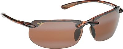 Entertainment Open your eyes to a whole new world of colors and clarity with the Maui Jim Banyans Polarized Sunglasses. PolarizedPlus2 technology eliminates glare, blocks 100% of ultraviolet rays from any angle and boosts colors with a patented multilayer design. Maui Evolution lenses offer scratch resistance and impact resistance in a lightweight high-index package. Flexible, bendable, durable and lightweight Grilamid frames have hypoallergenic cellulose propionate temples. Lens treatments and frames are saltwater safe. Case and cleaning cloth included.The Skin Cancer Foundation recommends this product as an effective UV filter for the eyes and surrounding skin.Imported. Color: Saltwater. Gender: Unisex. Type: Polarized. - $219.00