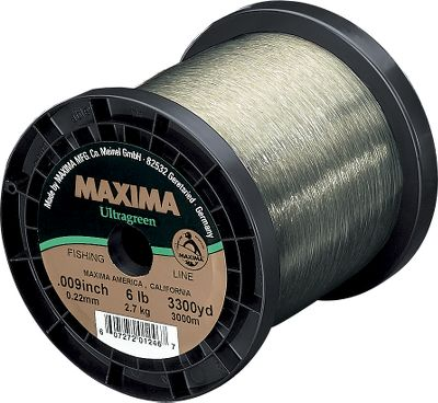 Fishing This German engineered monofilament has been a benchmark for knot strength and abrasion resistance for over 40 years. The special Ultragreen Super Soft formulation has a moss-green color that allows great light absorption underwater.Lb. TestDia. (in.)Yds.40.0073,30060.0093,30080.0103,300100.0123,300120.0133,300150.0152,630200.0172,630250.0202,630 Yards: 3,300. Type: Monofilament Line. Lb. Test: 10. Lb.Test 10#. - $79.99