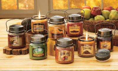 Entertainment Light a McCalls Candle and experience the finest fragrances available. Each candle is crafted to unsurpassed standards with top-quality materials, the finest fragrances and long-burning wax for a highly scented experience. Wicks are zinc-based, not lead-based.Jars feature rustic metal lids. Made in USA. Size: 16 oz. Available: Hot Buttered Rum, Cinnamon and Cranberries, Country Christmas (the scent of sweet, spicy pear), Country Store (a blend of apples, oranges, cinnamon and spices), Cabin Scents (fragrant spicy pine), Fresh Apple, Lilac, Smores. Type: Candles. - $15.99