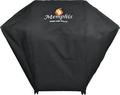 Camp and Hike Protect your Memphis Wood Fire Grill with a cover made of marine-grade, weather-resistant polyester. Measures 13-1/2L x 9W x 4H. Imported. Available: Memphis Pro Grill Cover, Memphis Pro Built-In Grill Cover. Type: Grill Covers. Pro Cover. - $109.99