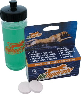 Hunting A fast-acting formula that once dissolved in water, provides a performance drink fortified with nutrients for your dog. 10 tablets. Type: Rehydrate Tablets. - $5.88