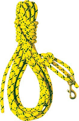 "Hunting The effective way to teach whoa and honor. Essential for training both in the field or the water. Super-strong and stiff. Won't stretch or tangle, and it floats. 7/16"" x 30-ft. Color: Hi-Viz Yellow. - $16.88"