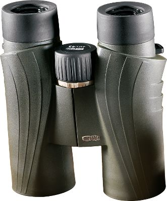 Hunting Compare the optical clarity of these binoculars with those costing much more. MB-550 lenses are treated with a multilayer, ion-assisted coating to improve light transmission to 99.8% per glass surface. Premium-grade optical elements feature a wide field of view and neutral color presentation. Coated roof prisms for phase correction guarantee clarity and color definition. Ergonomic design makes them comfortable enough to glass all-day long. Three-position twist-up eyecups for optimal positioning. Razor-sharp focus with 1-1/4 revolutions. Frames are constructed of an aluminum alloy coated with a rugged rubber armor. Screw-in eyecups accommodate eyeglass wearers. Color: Green. Type: Full-Size. - $499.99