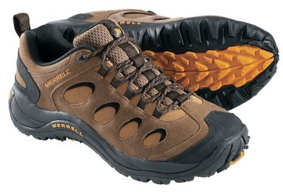 Camp and Hike If you want versatile footwear that can take you from the hiking trail to the running trail or to the gym equally well, the Reflex Series is for you and you can only get them at Cabelas. Hiker toughness meets running-shoe comfort in a versatile design that stabilizes feet on any terrain. Waterproof suede uppers have reinforced rubber toe and heel protection for extra durability and protection. 4.5mm anatomical footbeds conform to your foots shape. Air Cushion midsoles offer superior cushioning. Compression-molded EVA footframes add support. Reflex outsoles promote traction both uphill and downhill on nearly any surface. Imported.Height: 4.Average weight: 2 lbs./pair.Mens sizes: 7-14 medium width. Half sizes to 12.Color: Otter. - $59.99