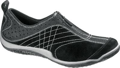 Innovation from high-tech athletic shoes is integrated with pigskin suede and mesh for comfortable shoes that go great with any outfit. Aegis treated, breathable mesh linings are odor-resistant. Removable EVA footbeds. Womens stride-specific Q-Form cushioning is comfortable and flexible for all-day support. Air cushions in the heels absorb shock. Molded nylon arch shanks and compression molded EVA footframes for stability and added comfort. Lorelei sticky rubber outsoles deliver nonslip traction. Imported.Average weight: 0.94 lbs./pair.Womens sizes: 5-11 medium width. Half sizes to 11.Colors: Black, Espresso. - $99.99