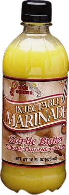 King Kooker marinade. 16 oz. Available: Butter/Garlic. - $7.49