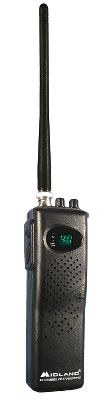 Hunting Communicate in remote places with this 40-channel CB radio. It locks on to another CB radio with pinpoint accuracy using the precision PLL frequency control system. Automatic noise control ensures clear audio, even in noisy surroundings. Use the high/low power switch to easily adjust power usage for long or short range to conserve battery life. Connect an external antenna, speaker/mic or headphone/mic to enable better reach and communication. Bright LED displays channels in both bright and dark conditions. Built-in electrostat electronic microphone. Low-battery indicator. Includes charge jack and removable antenna. Powered by nine AA alkaline or rechargeable batteries. Color: Clear. - $59.99