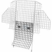 Hunting The Extension for the Wire Mesh Pet Barrier is for vehicles with bucket seats that have a split in between. It measures 23 W x 24 H. Both pieces are made of 2 mesh, 5- and 9-gauge wire in a nonreflective black finish. Color: Black. - $8.88