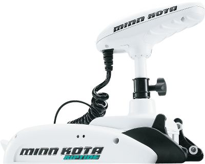 Fishing When it comes to a bow-mount electric steer motor for saltwater, Riptide ST is the most advanced trolling motor we have ever offered. Deployment is easy just push the handle, and it pivots into running position on fall-away ramps. Digital Maximizer technology controls the power draw on the battery at various speeds, eliminating wasted power and extending battery life. Minn Kota has teamed their highest level of performance trolling motor with their industry-leading, satellite-guided, factory-installed i-Pilot control system. Made in USA. - $1,769.99